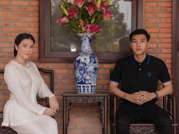 Lý Nhã Kỳ khánh thành phủ Trần Lê Gia hoành tráng tại quê nhà